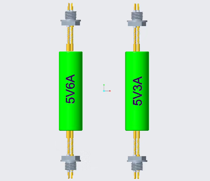 6ampere current pin with Multi-pin group for capacity grading and formation