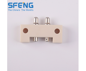 2pin pogo pin connector for supermarket shelf