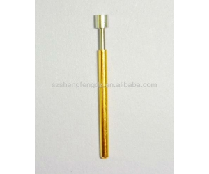 Best price test spring probe pin/spring loaded test pin/threaded spring pin