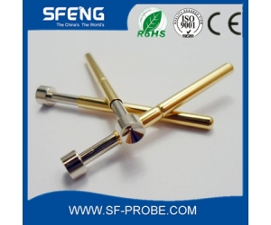 Ni plating Concave head tip pcb test probe