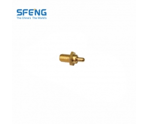 Small size brass charging pogo pin