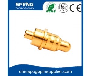 Spring Loaded Probe,Low-resistance Brass Pogo Pin Connector For Wearable Devices