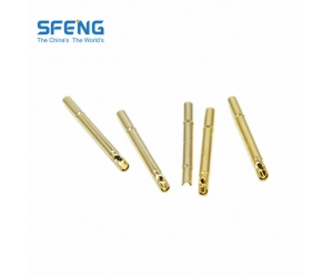 Spring loaded probe pin receptacle
