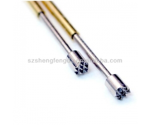 Stock test spring loaded probe pin for PCB/ICT/FCT