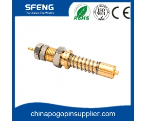 high current spring probe