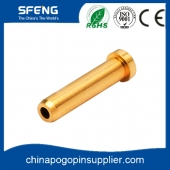 China Charging gold plated pogo pin factory