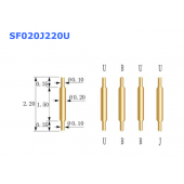 China Double head ended probe SF020J220U factory
