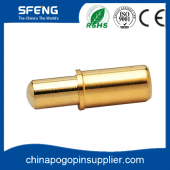 China High precision brass pogo pin with gold plated factory