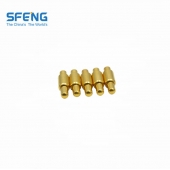 China Spring loaded plug-in type contact pogo pin factory