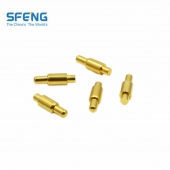 China customized size gold plated pogo pin SF-PPA2.1*10.5-J factory