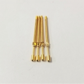 China standard size gold plating screw pin SF-M106  series factory